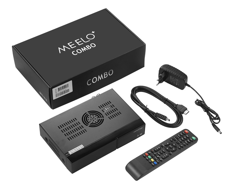 MEELO COMBO update X Solo mini 3 Satellite Receiver 1200MHz Dual DMIPS 4GB Flash 1G DDR3 DVB-S2 DVB-C/T2 Linux Media player WIFI