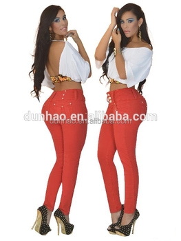 aafc9da54c1 Colombian Women Butt Lift Jeans Levanta Cola Push Up Jeans - Buy ...