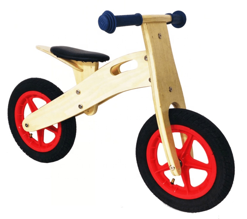 WCB001เด็กไม้Blanceจักรยานสำหรับเด็กเรียนรู้สมดุลทักษะและของเล่นเพื่อการศึกษา