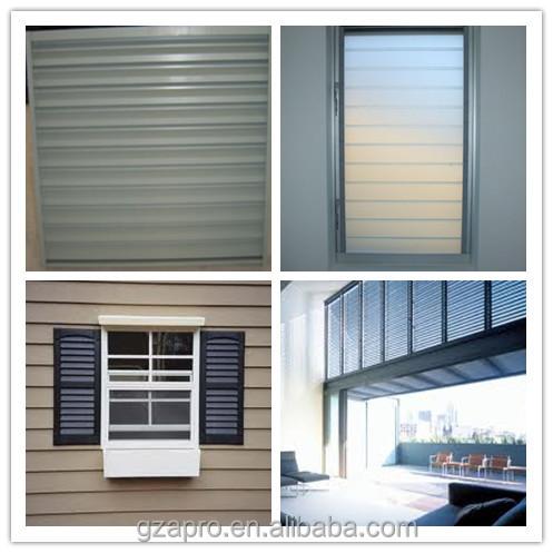estilo moderno diseo de aluminio persiana ventanas ventana parrillas de hierro en china
