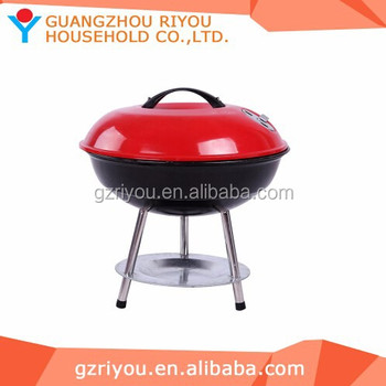 2015 Hot Selling 14# Apple Shape Kettle Charcoal Smokeless Grills ...