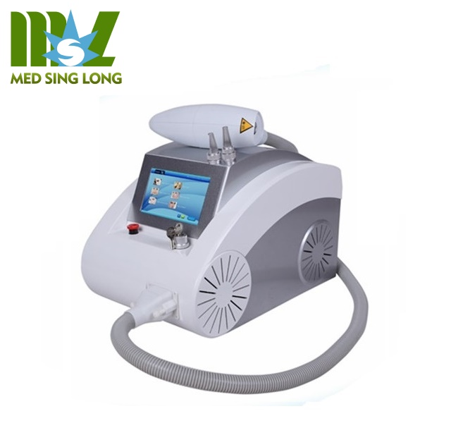 Cheapest 1064 nm 532nm and 1320nm Q-switch nd yag laser fast tatoo removal