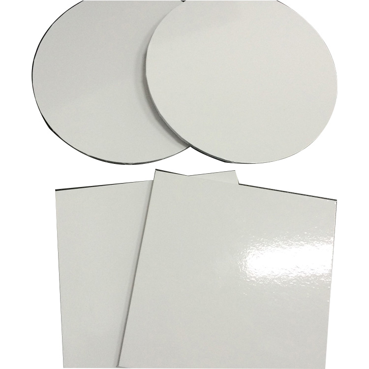 China Wholesale Customized Hight  Quality 6mm Square Round Mdf Cake Board