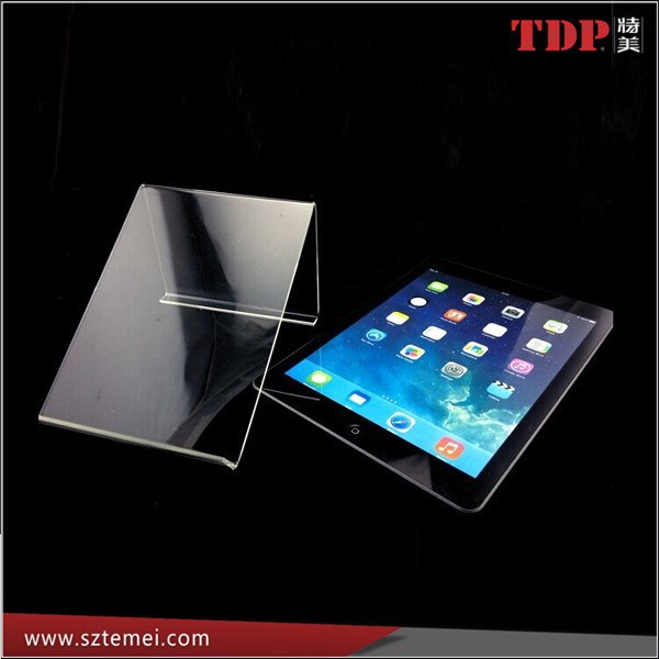 Clear Acrylic Display Tablet Computer Display Stand/ Holder Rack