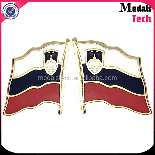 OME Metal USA national flag lapel pin with no minuim