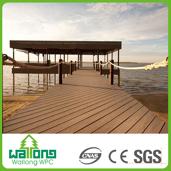 No staining or painting required wpc board decks for Walkway