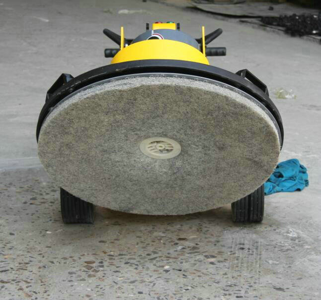 concrete buffing machine