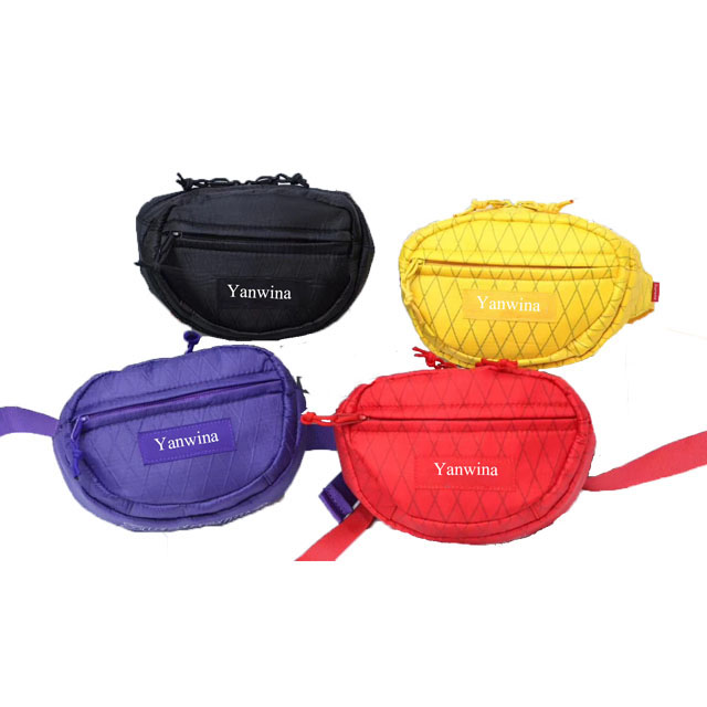 2019 new style crossbody cute customizable runners solar cooler insulated luxury chain neoprene glitter funny gold fanny pack