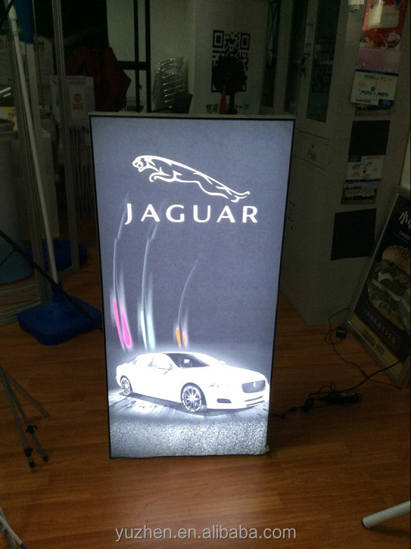 Aluminum Single-side graphic Digital printing LED Poster frame