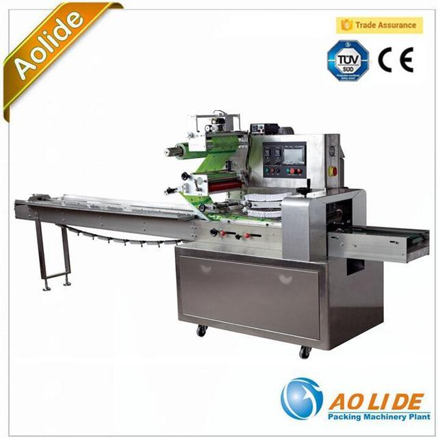 Full stainless steel SS304 Automatic film bag disposable Towel flow packing machine ALD-350