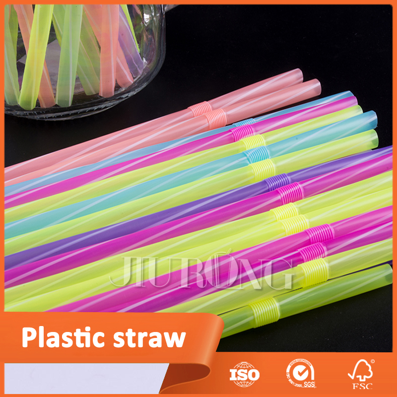 customized printing beverage drinking disposable plastic straw