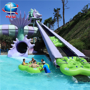 New design water slides uk+water park equipment with price list