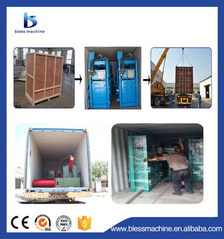 Waste baling!!! 2019 Professional manufacturer square baler with CE and ISO