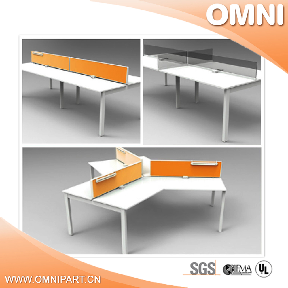 3 person workstation for home furniture SOHO office desk