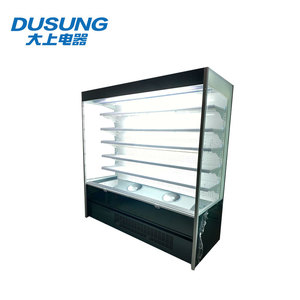 Safe and reliable refrigerated cake cold food display case