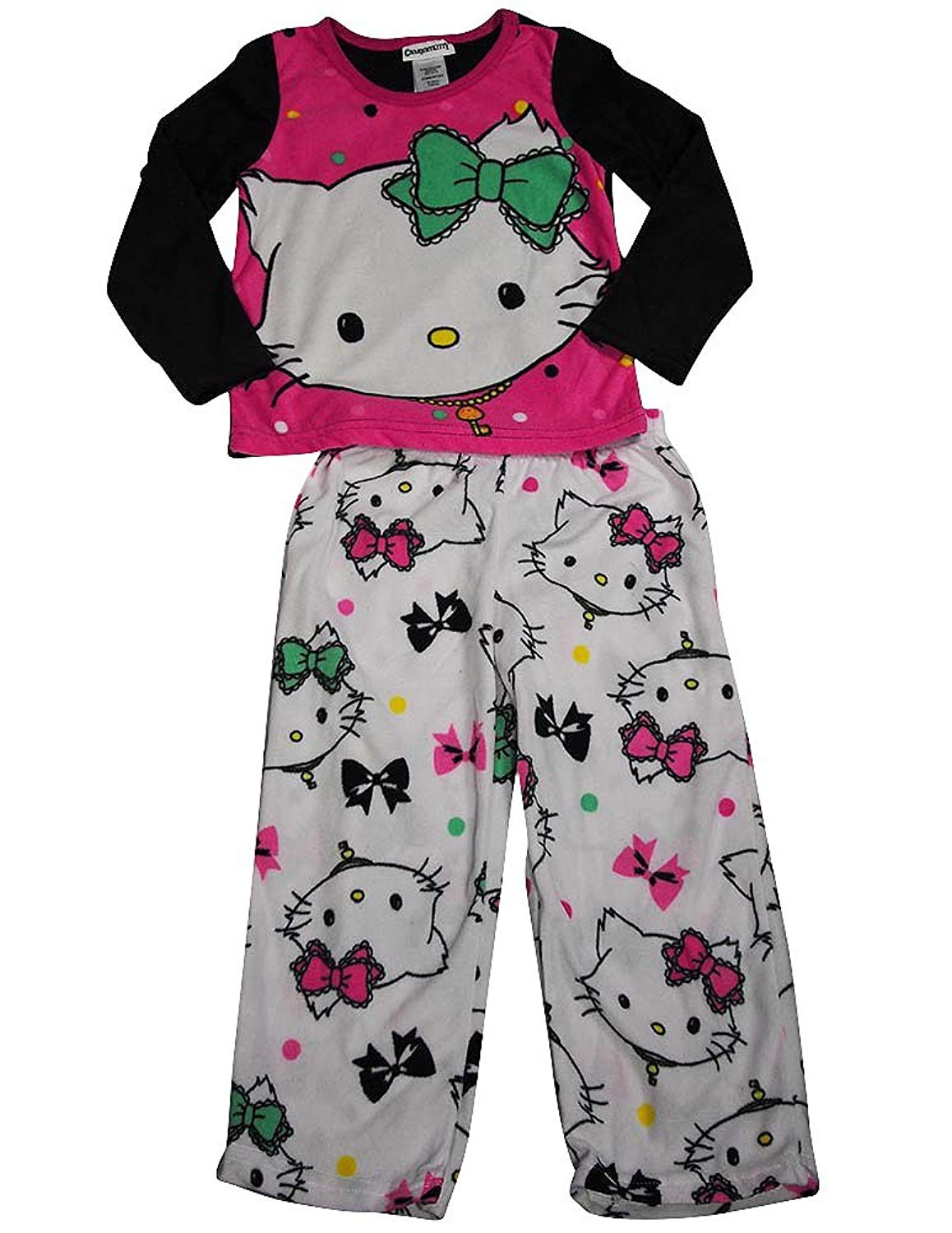 f47011355 Get Quotations · Charmmy Kitty - Little Girls Long Sleeve Hello Kitty  Pajamas