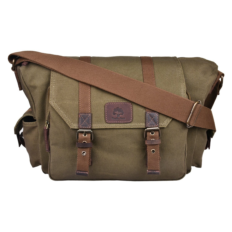 635a08fa4 Rustic Town Canvas Vintage Crossbody Messenger Camera Bag Gift Men Women  Travel Work ~ Carry Laptop