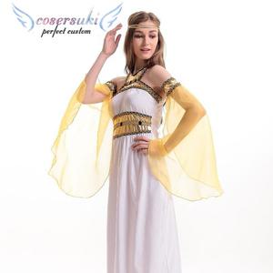 740c3925b6a3e Goddess Cosplay Halloween Cleopatra Queens Dress Arabian Queen Nightclub DS  Costumes