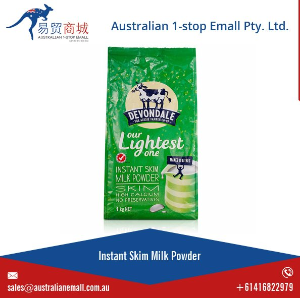 100% Austrlian Milk Wholesale Instant Skim Milk Powder Fat Free