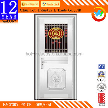 New Design Stainless Steel Door Entry Single Door Security Door Best