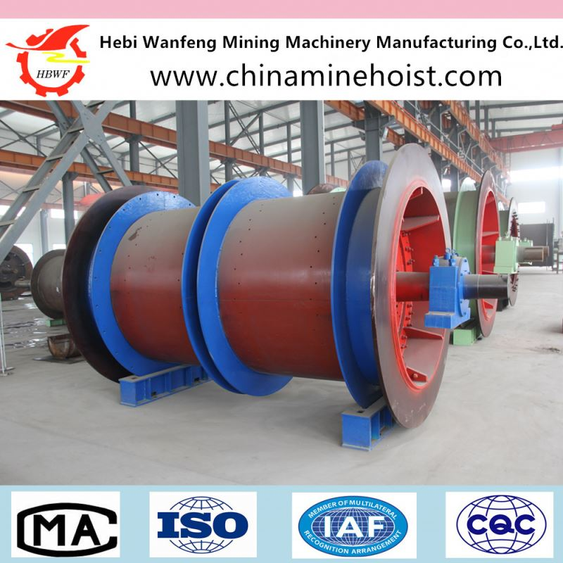 Factory supplier electric mining hoist winch machinery