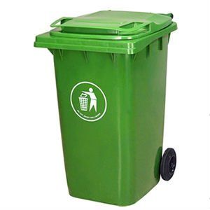 plastic commercial square garbage can - Commercial Garbage Cans