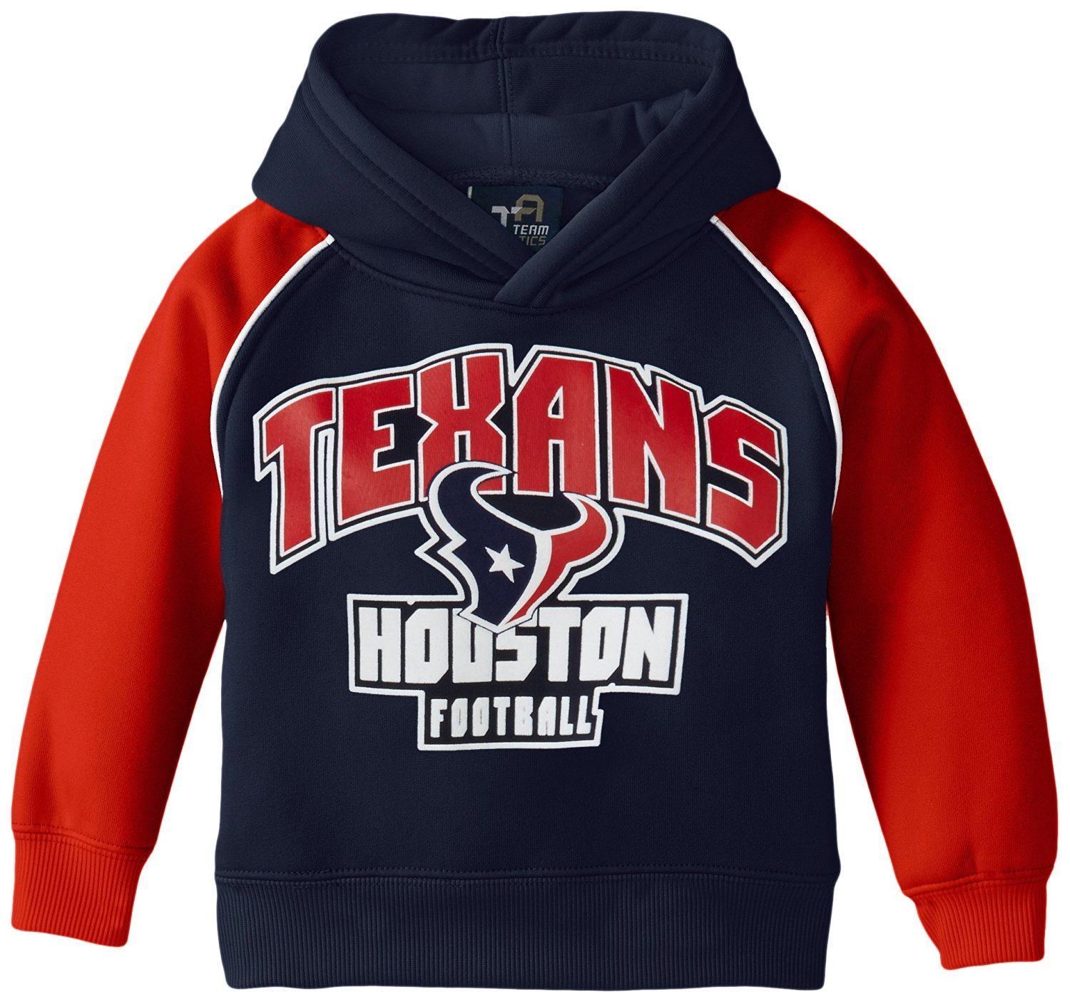 df2e8b741 Get Quotations · NFL Houston Texans Team Two Tone Fleece Hoodie