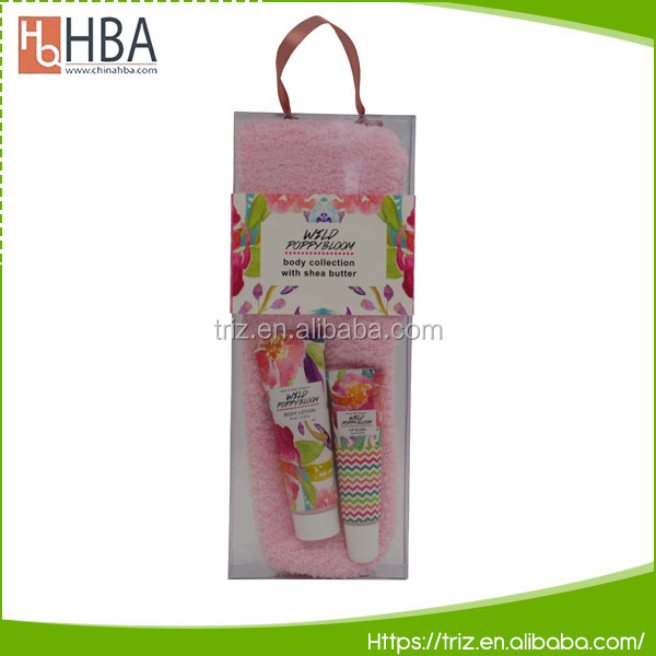 MINI design natural wholesale foot lotion foot care gift sets