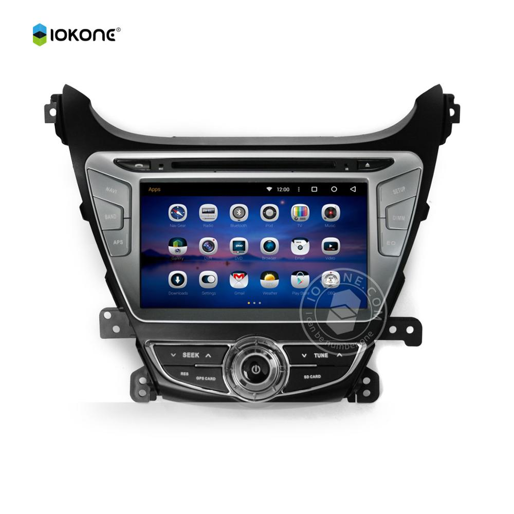 Touch Screen Dashboard Android 5.1 Car Audio For Hyundai