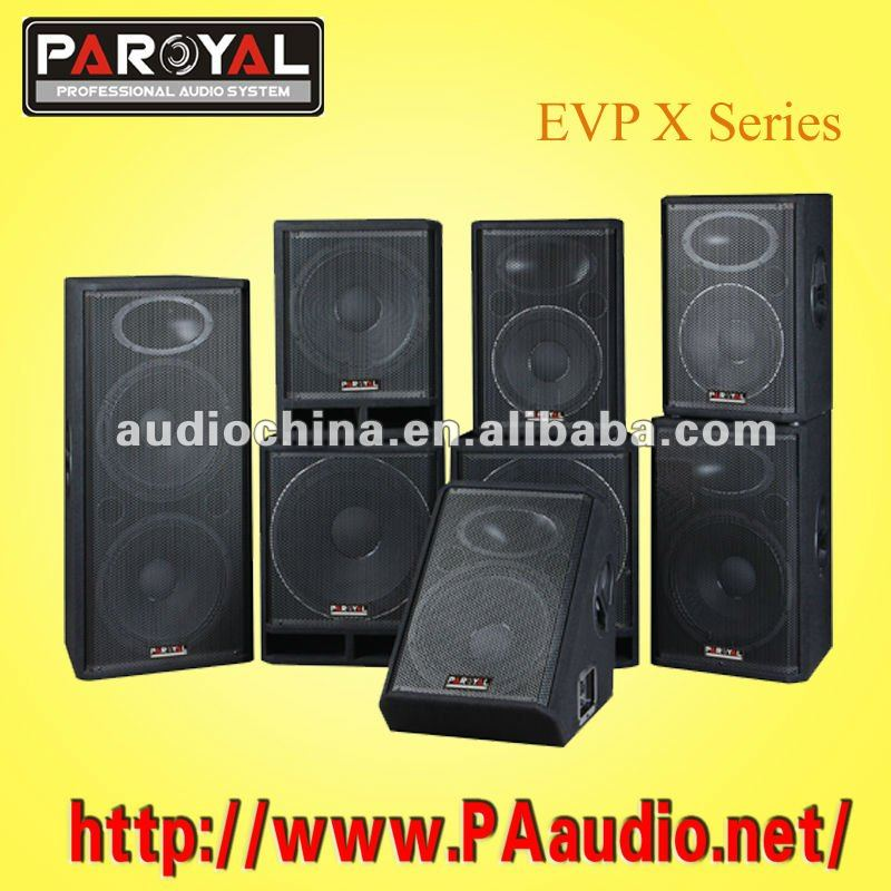 EVP-X Series Wharfedale Style Pro Sound System