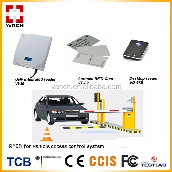 Wireless long range rfid reader 10m reading distance up to access control system