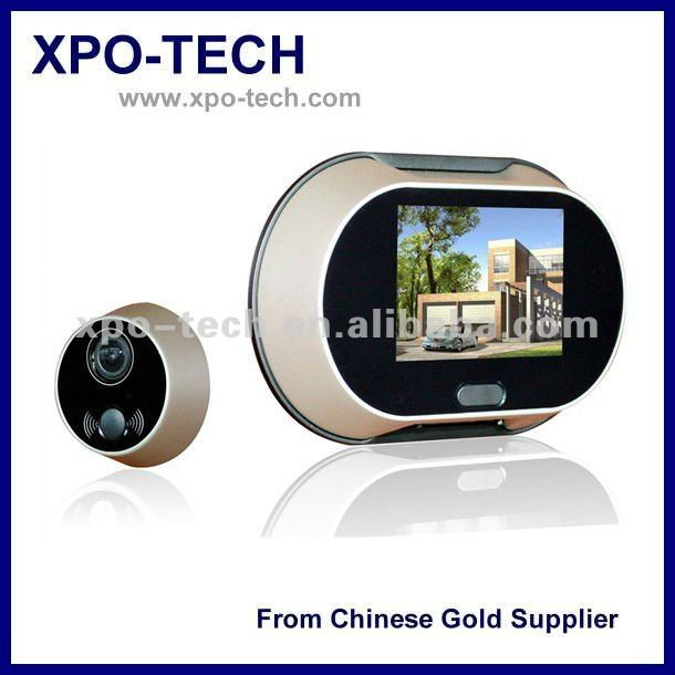 Video Doorbell Peephole with 3.5'' Color TFT Display