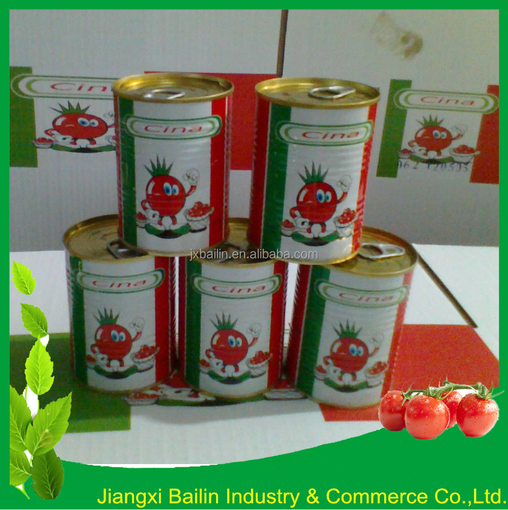 GINO Quality Tomato Paste in can, Canned Tomato Paste