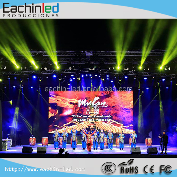 Indoor meeting room video wall 500x500 led screen specially for party show
