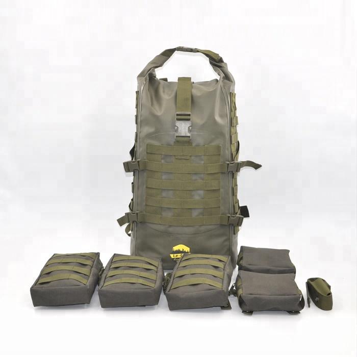 3 jours de L'opérateur Tactique Sac À Dos 40L imperméable de survie Militaire Sac à dos de chasse molle bug sac