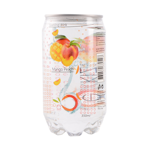 Wholesale soft drink peach mango mix fruit flavoured carbonated beverage
