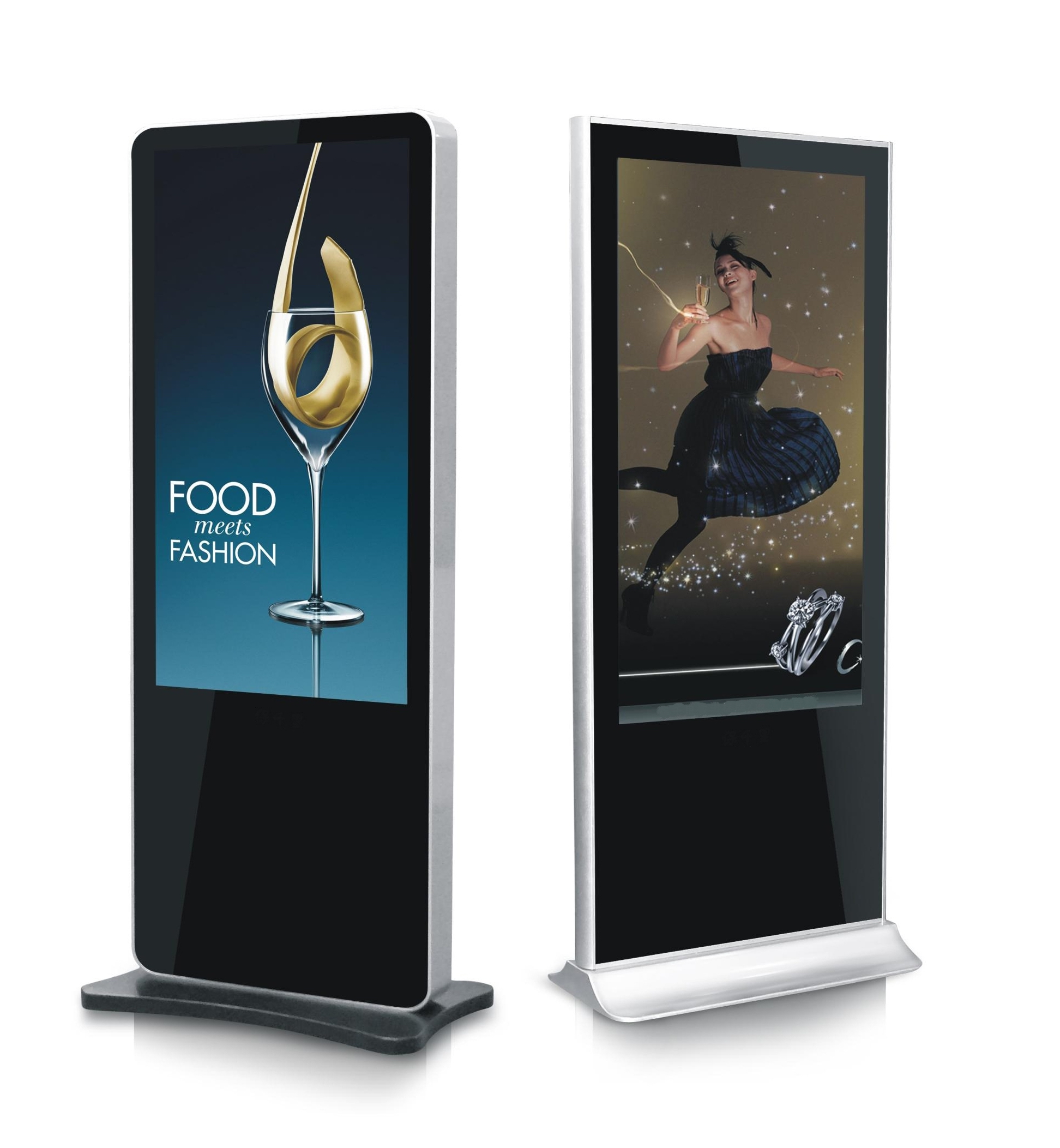 55Inch Floor Standing Digital Signage Advertising Video Wall Lcd <strong>Screen</strong> For Sale