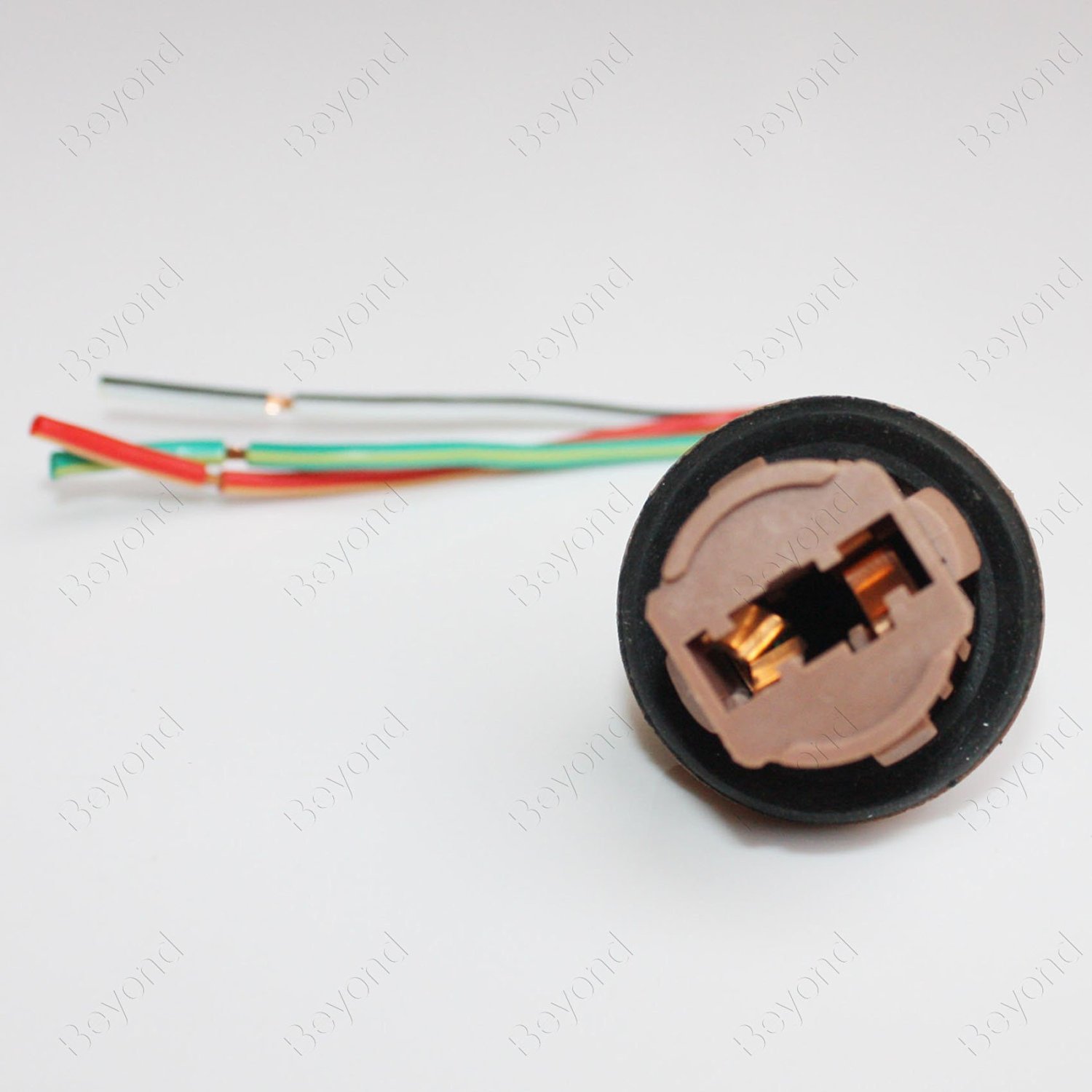 Buy Byopto 2 Pcs 7443 Female Car Auto Truck Headlight Fog Brake Wiring A Light Bulb Turn Signal