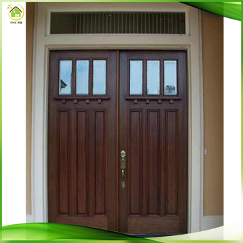 Walnut Solid Wood Double New Front Doors Entry House For Homes Buy