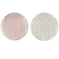 Disposable Beauty Makeup Remover Double Drop Plastic Hand Insertion Type Round Cotton Pads OEM