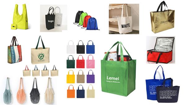 Christmas wholesale fashionable custom logo nylon school backpack drawstring bags
