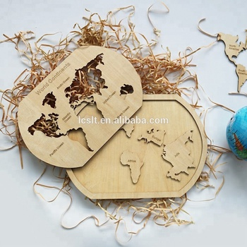 Laser Cut World Map.Laser Cut Wooden World Map Puzzle Canada Wooden Beer Map