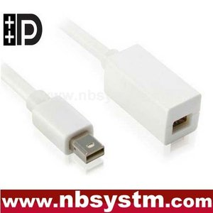 mini DisplayPort to mini DisplayPort extension cable support Thunderbolt