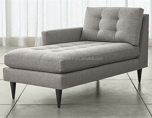 baroque lounge furniture New designer Fabric Chaise Lounge