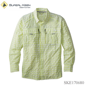 Men's Durable nylon-ripstop bug-repelling fishing shirt