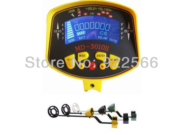 New authentic day patrol MD 3010, digital intelligent exploration of underground gold metal detector