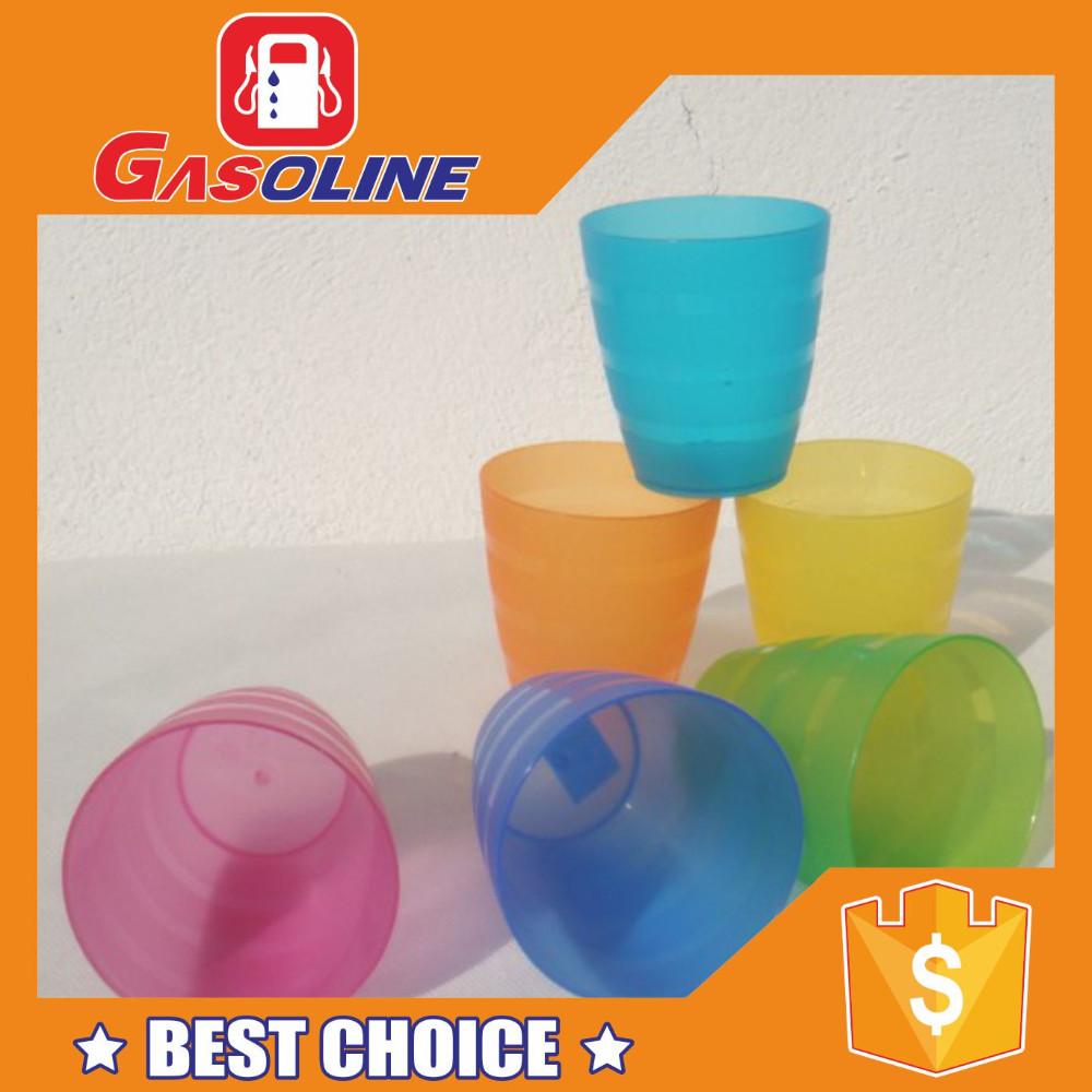 Reusable recyclable 3 ounce plastic cups