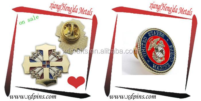 Custom Masonic Poppy Pin Badge Promotional Ideas