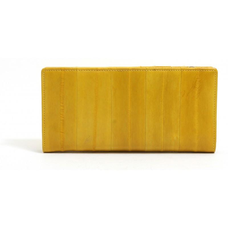 genuine eel skin wallet for lady
