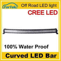 best quality China wholesale 240w led light bar one rows spot light curved cr*ee led bar